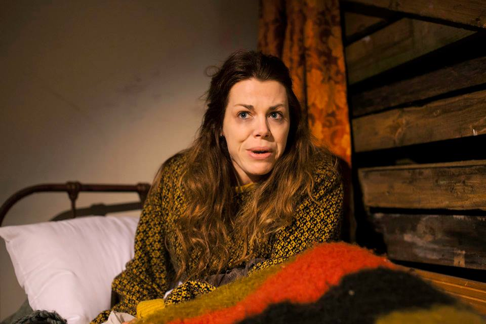"Sinead O'Riordan in ""The Woolgatherer"""