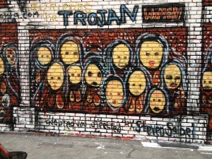 Street Art: The Trojan Women