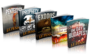 Picture of Penn's book covers